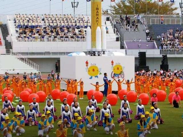 いきいき茨城ゆめ国体2019 開会式