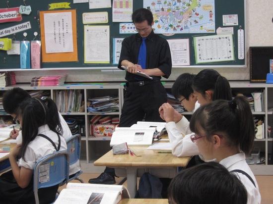 福嶋隆史先生が来校されました