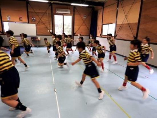 2年生のダンス授業
