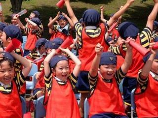運動会のリハーサル ~児童による児童のためのリリーベール運動会~