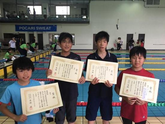 国民皆泳第52回水戸市水泳大会