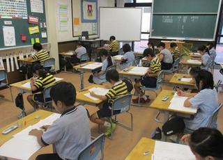 月例テスト・体育の授業