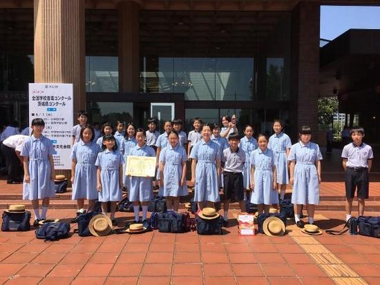 第85回NHK全国学校音楽コンクール 銅賞受賞