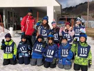 スキー学習最終日・4年生プール学習