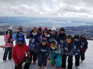 5・6年生スキー教室 1年生氷のアート ランチ