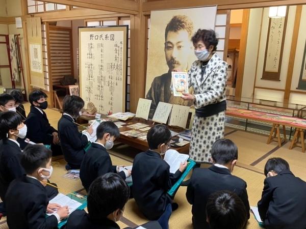 茨城の歴史を肌で感じた4年生