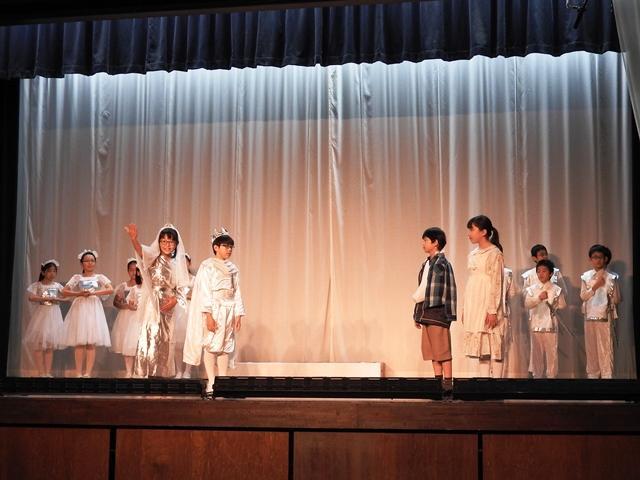 演劇の練習